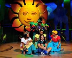 Tara Yates-Reeves, David Little, Brittany N. Williams, Jobari Parker-Namdar and Ayanna Hardy. Photo by Bruce Douglas.