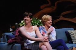Deborah Hazlett and Megan Anderson. Photo by