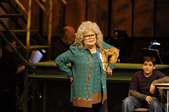 Sally Struthers in 'The Full Monty' at Riverside Center Dinner Theater. Photo by  Suzanne Carr-Rossi.
