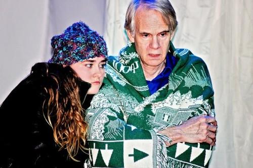 Ashley San as Catherine and . Bob Chaves as Robert. Photo by McCall Doyle Photography.