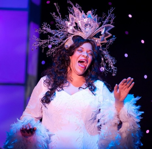 Crystal Freeman as Glinda, the Good Witch of the South.  Photo by Kirstine Christiansen.