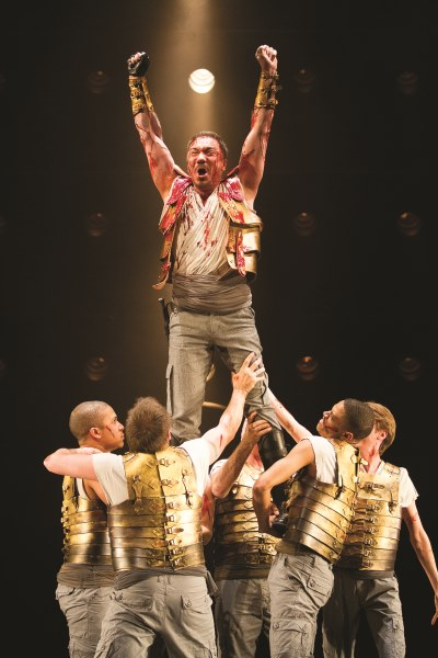 Theatre Review: 'Coriolanus' by the Shakespeare Theatre Company at Sidney Harman Hall