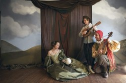 Sabrina Mandell, Karen Hansen, Mark Jaster. Photo by Leslie McConnaughey.