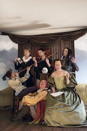 The cast of 'Vanitas.' Photo by Leslie McConnaughey.