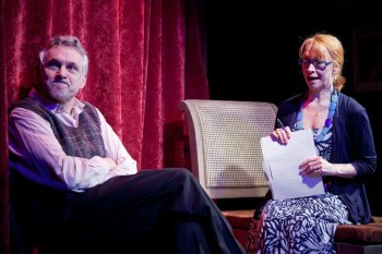 Michael Kramer and Anne Kanengeiser. Photo courtesy of No Rules Theatre.