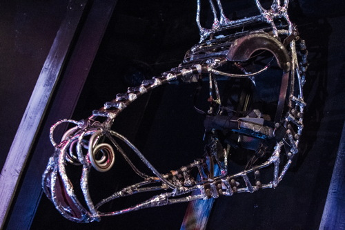 Metalwork Horse Head.