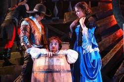 Dallas Tolentino, Mitchell Grant, and Brittany O'Grady. Photo by Johnny Shryock.
