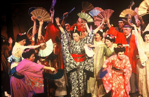 The cast of 'Mikado.'  Photo courtesy of Wolf Trap.