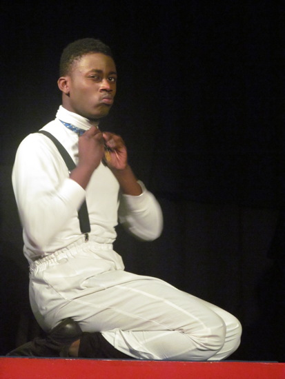 Xavier Brebnor as Snoopy. Photo provided by Theater Without Limits.