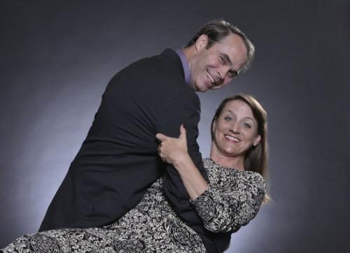 Greg Guyton and Jennifer Skarzinski.  Photo by Amy Jones Photography.