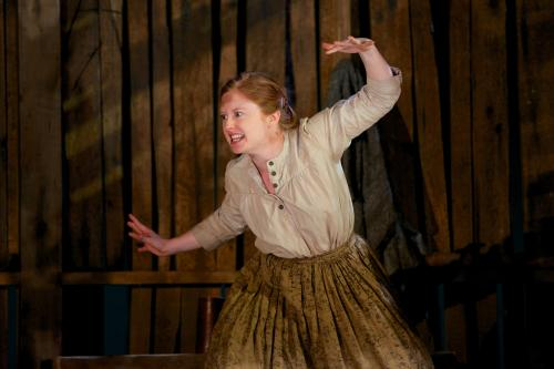 Becky Byers as Rebekkah. Photo by Seth Freeman.