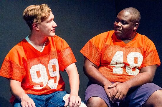 Steve Ferguson and Rasheed Green in 'Hoya Saxa.'  Photo by Ken Stanek Photography.