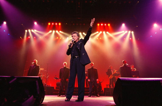 Frankie Valli in concert.