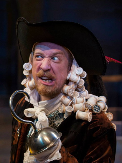 James Konicek as Captain Hook. Photo provided by Imagination Stage.