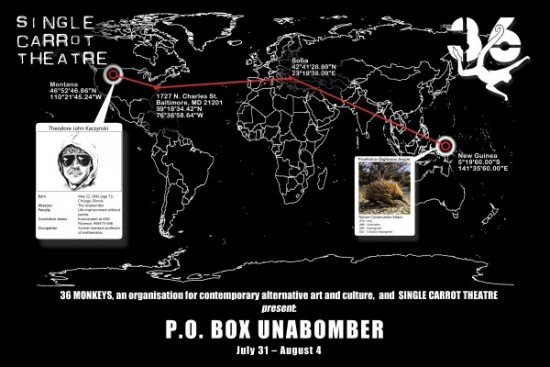Theatre Review: 'P.O. Box Unabomber' at Single Carrot Theatre