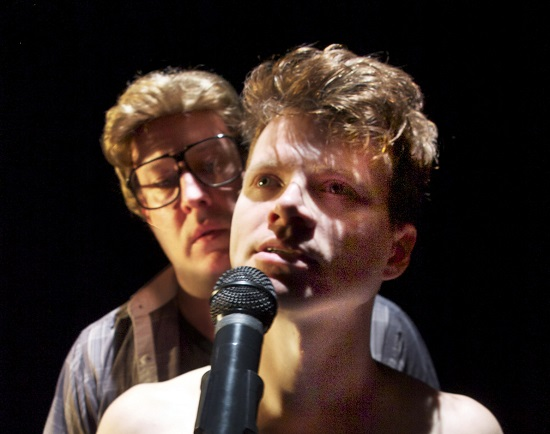 Joseph W. Ritsch as Jeff and Will Manning as the Victim. Photo by Daniel Ettinger.