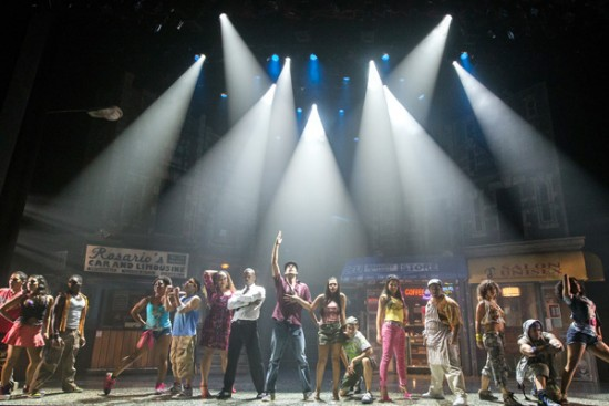 "The cast of 'In the Heights."" Production photos by Mark Garvin."