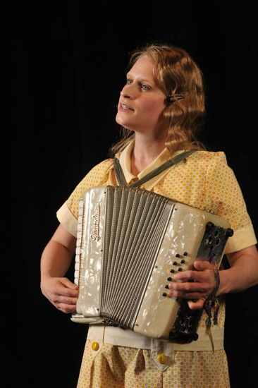 Christine Demuth as Wilma. Photo by