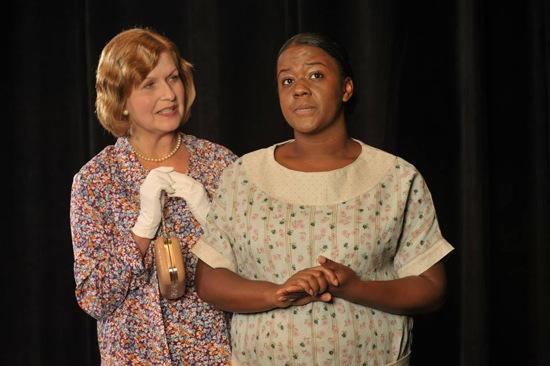 Yvonne Erickson as Gert and Erica McLaughlin as Minna. Photo by Stan