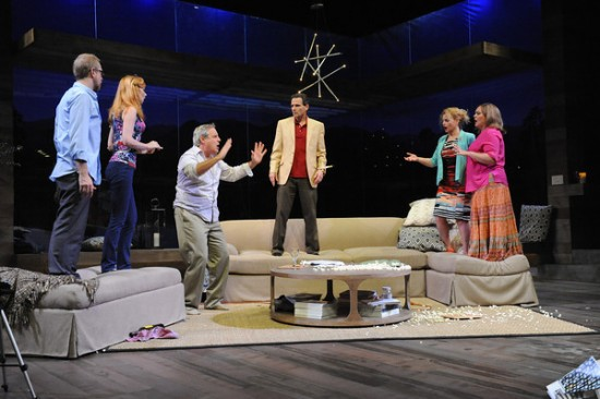 The cast of Rancho Mirage. Photo by Stan Barouh.