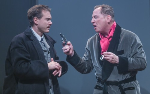 Jeff McDermott (Richard Hannay) and Bob Cohen (Everyone else). Photos by Keith Waters/Kx Photography.