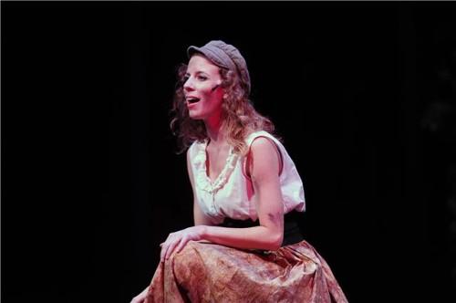 Caitlin Shea.  Photo courtesy of Riverside Dinner Theatre.
