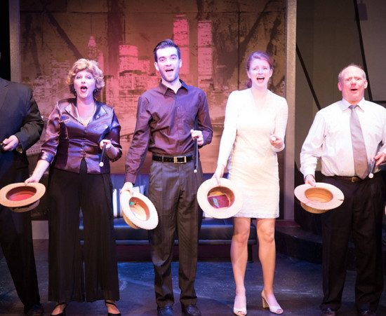 Shannon Wollman (Joanne), Jim Baxter (Peter), Molly Doyle (Amy), and Shawn Doyle (Harry).  Photo by Ken Stanek.