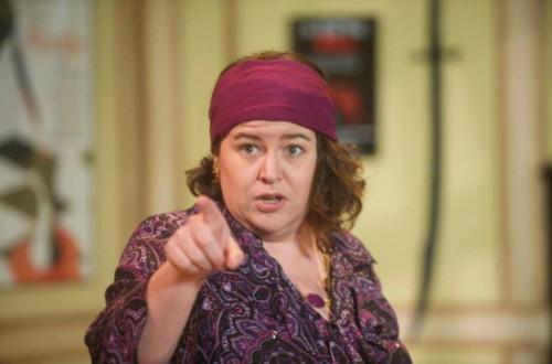 Andrea Bush as Helga Ten Dorp.  Photo by Joshua McKerrow.