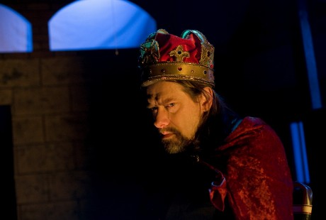 an Armstrong as King John. Photo by Christopher Maddaloni.