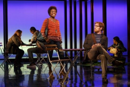 LaChanze and Anthony Rapp. Photo by Joan Marcus.
