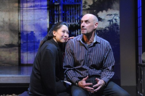 Sue Jin Song and Jim Jorgensen. Photo by Stan Barouh.