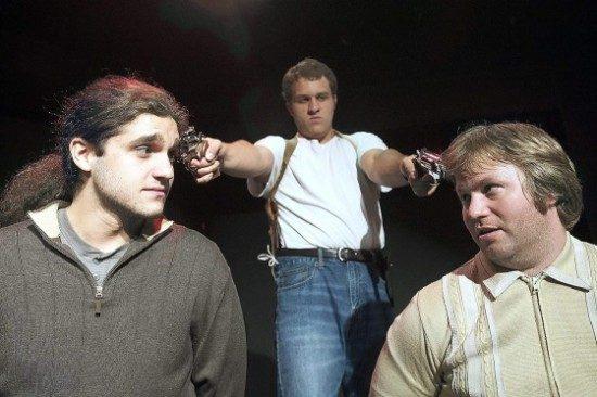 Matthew Purpora as Davey (left) and Stephen Deninger as Donny. Photo by Joshua McKerrow.