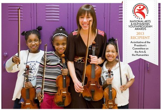 Music News: First Lady Michelle Obama Recognizes OrchKids for Excellence in Youth Program Awards