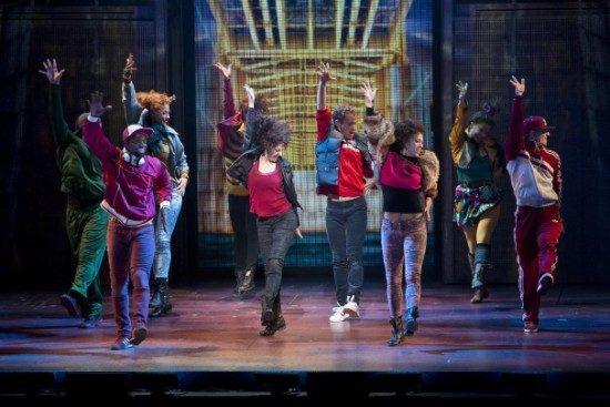 The ensemble of 'Flashdance.' Photo by Jeremy Daniel.