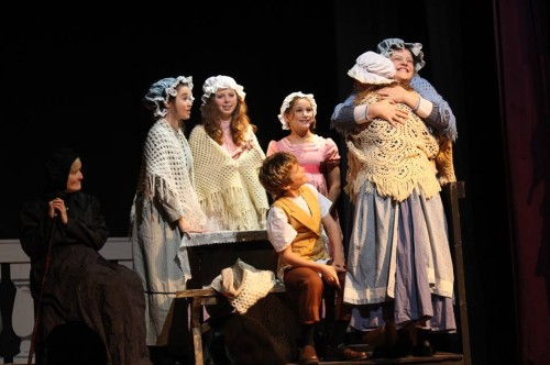 Cratchit Family. Photo by Eddy Roger Parker.