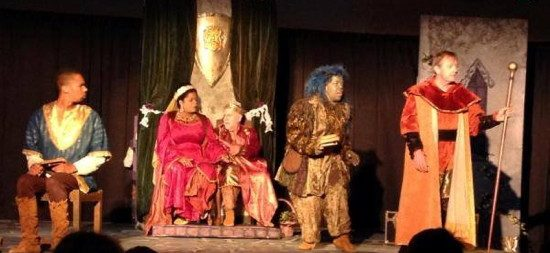 The cast of The Princess and the Pea. Photo provided by The Pumpkin Theatre.