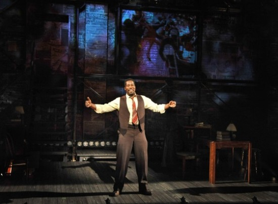 Daniel Beaty as Paul Robeson. Photo by Don Ipock.