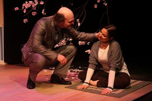 David Zimmerman and Kimberly Gilbert. Photo by Jati Lindsay.