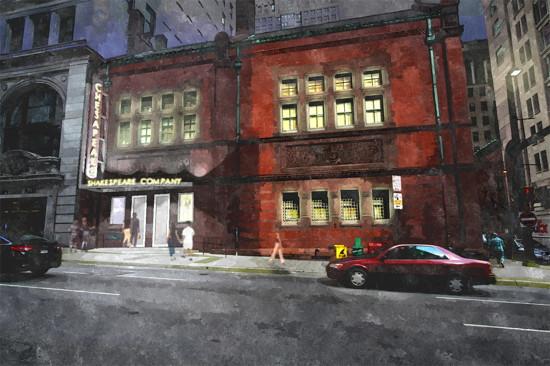 Chesapeake Shakespeare Company downtown Baltimore theater.  Credit: Cho Benn Holback + Associates.