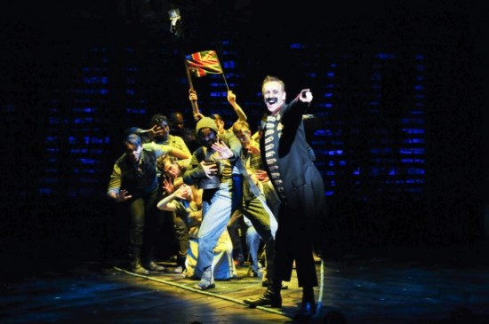 The company of 'Peter and the Starcatcher.'  Photo by Jenny Anderson.