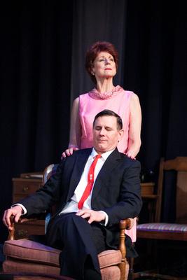 Mark A. Rhea & Rena Cherry Brown. Photo by Cameron Whitman.