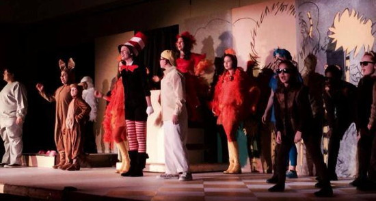 The cast of Suessical Jr. Photo provided by Pumpkin Theatre.
