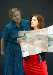K. Clare Johnson and Sarah Holt. Photo courtesy of Doorway Arts Ensemble.
