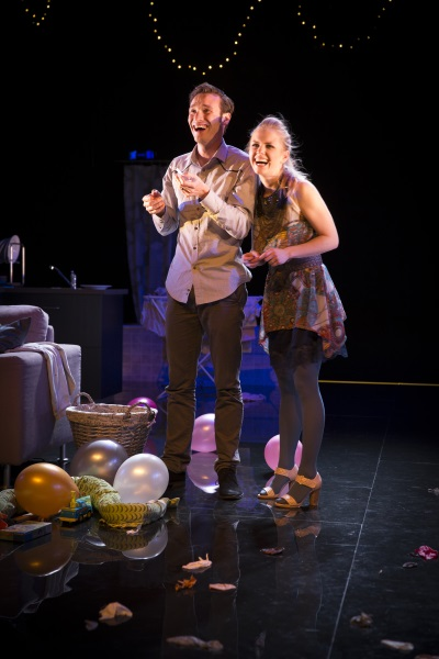Snorri Engilbertsson and Elma Stephanía Agústsdórtir. Photo by EDDI.