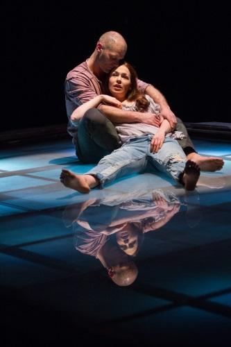 Laura C. Harris and Elan Zafir. Photo by Teresa Wood.