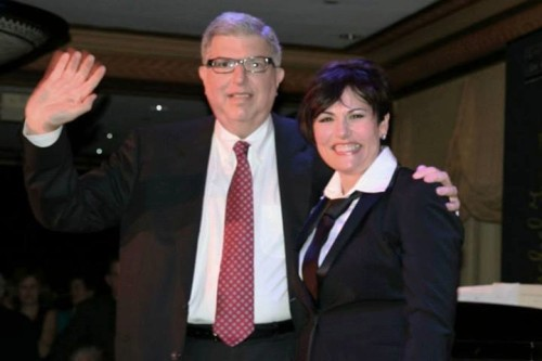 Marvin Hamlisch and Valerie Lemon. Photo courtesy of Live Arts Maryland.