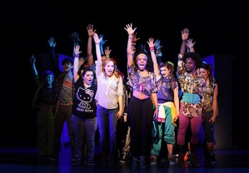 theatre review bring it on the musical at the music center at