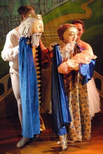 Sleeping Beauty: A Puppet Ballet. Photo by Gene Carl Feldman.
