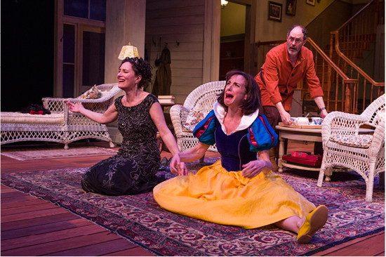 (l-r) Sonia (Barbara Walsh), Masha (Susan Rome) and Vanya (Bruce Randolph Nelson). Photo by Richard Anderson.
