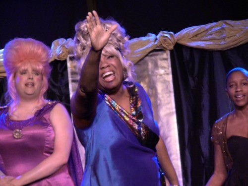 Brenda Parker performing I Know Where I Have Been with the cast of Little Theatre of Alexandria's production of Hairspray which won Outstanding Musical.